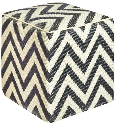 Fab Hab 810327021714 Laguna, beige und schwarz Cube