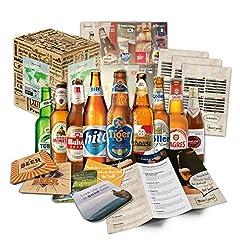 Idea Regalo - Birre di mondo (9 bottiglie) il mondo le migliori birre del mondo dare con scatolaregalo (nessuna birra a buon mercato)