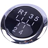Schaltknauf Kappe Auto Schaltknauf Kappe Abdeckung 6 Gang Schaltknauf Stick Cover Emblem Badge Cap Trim Gangschalt Kopfverkleidung Für T5 T5 1 Auto