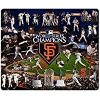 personal gaming Mouse Pads precise cloth & nature rubber Mouse Pad design San Francisco Giants MLB baseball logo 220mm*180mm*3mm
