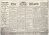 Lincoln Assassination. /Nfront Page Of 'The World ' 29 April 1865 With A Report On The Capture Of John Wilkes Booth. Kunstdruck (60,96 x 91,44 cm)