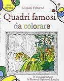 Quadri famosi da colorare. Ediz. illustrata