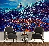 Fototapete selbstklebend Zermatt am Matterhorn in der
