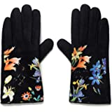 Desigual Gloves_flowerish Guanti per Basse Temperature, Black, U Donna