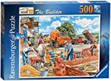 Ravensburger Happy Days at Work No.12 - The Builder 500pc Jigsaw Puzzle