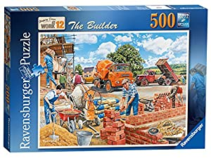 Ravensburger Happy Days at Work Nº 12 - Puzzle de 500 Piezas, diseño de Calabaza