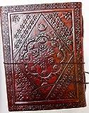 Handgefertigt Leder Notizbuch nachfüllbar Tagebuch für Männer Frauen oder für Büro -