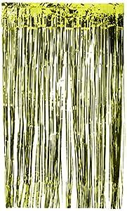 Amscan International-24200-5391cm x 2,43m Kiwi verde cortina de puerta