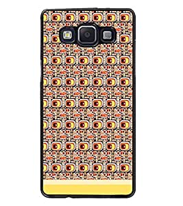PrintDhaba Pattern D-1501 Back Case Cover for SAMSUNG GALAXY E5 (Multi-Coloured)