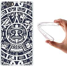 WoowCase - Funda Gel Flexible [ Elephone M2 ] Calendario Azteca Carcasa Case Silicona TPU Suave