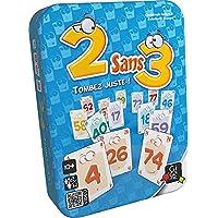 Gigamic - AMDEU - Jeu de carte - 2 Sans 3