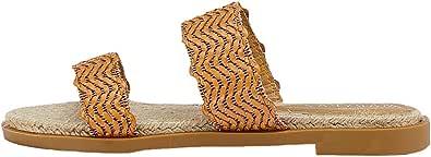 Marypaz, Sandali piatti moda estivi da donna marrone