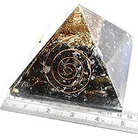 Orgonite Pyramid Black Tourmaline With Selenite 4.5-5 inch +1 Bracelet Gemstone Chakra Balancing Reiki Healing preisvergleich bei billige-tabletten.eu