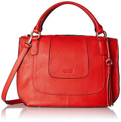 Cinque Damen Adelia Henkeltasche, Rot (Rot), 14x27x37 cm