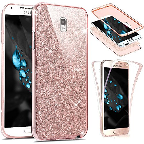 EUWLY Coque Samsung Galaxy Note 3,Coque Silicone Gel 360 Protection intégral Samsung Galaxy Note 3 Glitter Etui,[Complet Avant + Arrière Full-Body 360 Coverage Protective] Bling brillants Paillette Housse Souple TPU Full Protection Cover Integrale Avant Et Arrière Etui Accessoires Ultra Fin TPU Silicone Étui Housse Téléphone Couverture TPU Clair éclat avec Ultra Mince Premium Flex Soft Skin Extra Slim TPU Case Coque Housse Étui pour Samsung Galaxy Note 3 + Bleu Stylo - Rose