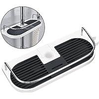 Hawsam No Drilling Shower Shelf Caddy for Shower Rail - Bathroom Rack Organizer Holder for Shampoo, Fit 19mm - 25mm Rail