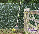 Artificial Ivy Leaf Screening Hedge 3m x 1.5m (9ft 10' x 4ft 11') Fencing Garden Privacy Screen Rolls by Papillon