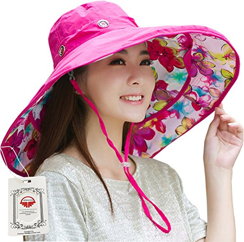ihomey-packable-shapeable-extra-large-brim-floppy-sun-hat-reversible-upf-50-beach-sun-bucket-hat