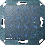 Gira Keyless In 260528 Keypad System 55 Anthracite