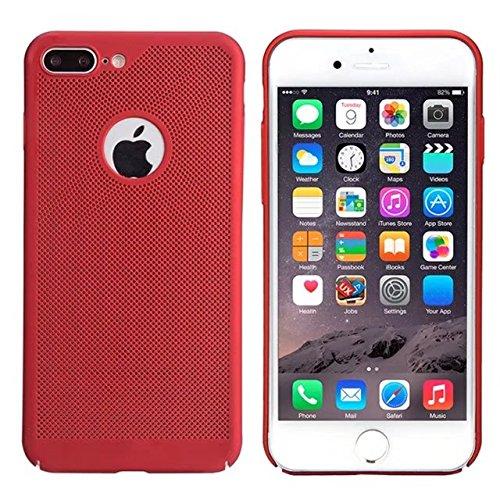 iPhone 7 Plus H¨¹lle,iPhone 8 Plus H¨¹lle,Valenth Sto?- Schlagschutzma?nahmen schwer zur¨¹ck H¨¹lle Cover f¨¹r iPhone 7 Plus / 8 Plus Rot