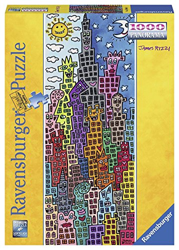 Ravensburger 15065 - James Rizzi Fun Sun Puzzle, Panorama, 1000 Pezzi