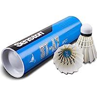 Senston Federbälle 6 Stück Durable Badminton Bälle