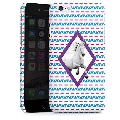 Apple iPhone X Silikon Hülle Case Schutzhülle Unicorn Einhorn Hipster Muster Premium Case matt