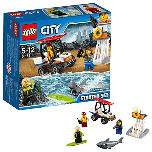 LEGO-UK-60163-Coast-Guard-Starter-Set-Construction-Toy