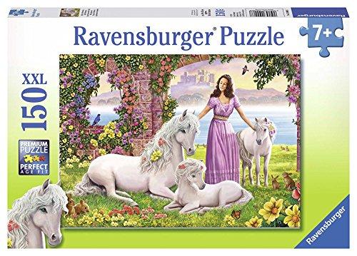 Ravensburger - Puzzle con diseño de princesa y pony, 150 piezas (10008 8)