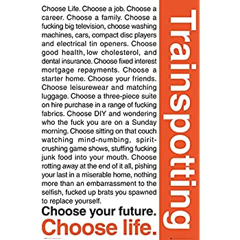 T2 Trainspotting Choose Life