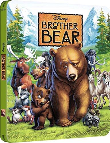 Bärenbrüder (Brother Bear) - Exclusive Limited Edition Steelbook (The Disney Collection) (UK Import MIT deutschem Ton) [Blu-ray]