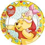 23cm Disney Winnie The Pooh Party Plates, Pack of 8
