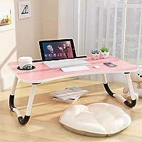 Table de lit pour ordinateur portable, petit-déjeuner, support pour ordinateur portable, table de lecture, plateau…