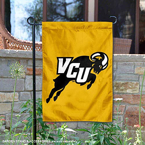 College Flags and Banners Co. VCU Rams Jumping RAM Garten Flagge -