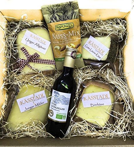 Allgäuer Käsegeschenk mit guter Laune - Heumilchkäse aus dem Allgäu (Bio-käse)