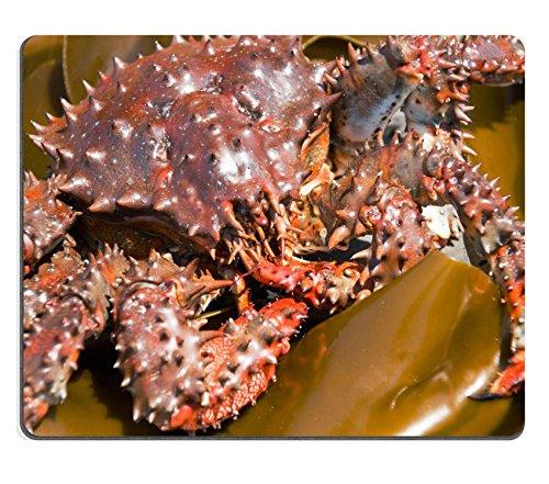 Preisvergleich Produktbild Liili Mauspad Naturkautschuk Mousepad Bild-ID: 3419630Prickly Crab auf Bogen der Sea Grünkohl