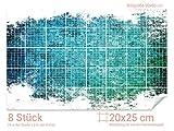 GRAZDesign 766108_20x25_60 Fliesenaufkleber Mosaik - Design für Deine Kacheln | Wand-Deko für Bad/Küchen-Fliesen (Fliesenmaß: 20x25cm (BxH)//Bild: 90x60cm (BxH))