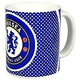 Chelsea FC Official Bullseye Ceramic Football Crest Mug