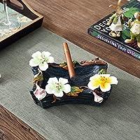 DuZiShi-cy In ceramica posacenere/semplice/pratico moderna casa decorativi ornamenti/regali/soggiorno/casa regalo/fidanzato/posacenere