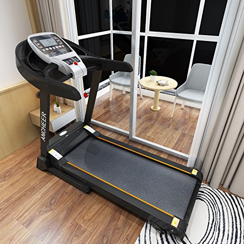 61sYeEbjaWL. SS500  - ANCHEER S8500 Treadmill APP Control, New Electric Motorised Treadmill Machine Folding Running Machine with 2 Levels Manual Incline