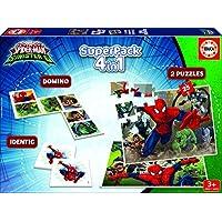Spiderman - Superpack, juego de mesa (Educa Borrás 17197)
