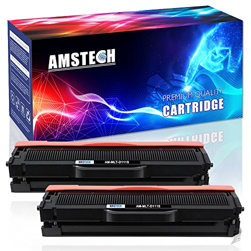 Preisvergleich Produktbild Amstech 2 Pack Toner ersetzt Samsung MLT-D111S D111S 111S MLTD111S MLT D111 für Samsung Xpress M2070 m2070w m2070fw m2026 m2026w Samsung SL-M2070 SL-M2026w M2022 M2020 SL-M2070w SL-M2070fw M2020W M2022W Schwarz