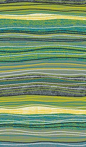 Teppich maschinengewebt grün Größe 120x170 cm