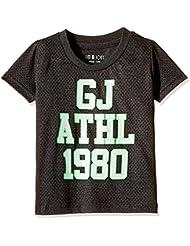 Upto 50% Off On Kidswear GIMI & JONY Men's Round Neck T-Shirt low price image 15