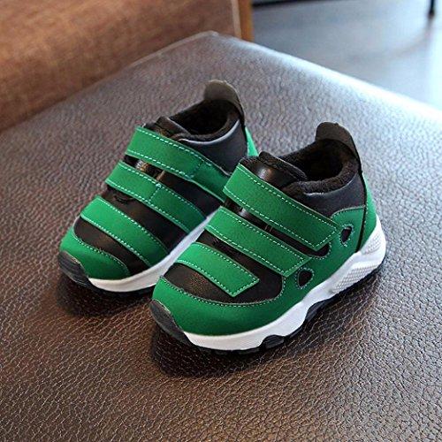 Bild von cinnamou Winter-Warmer Turnschuh für Baby Mädchen Jungen 0-3 Jahre, Scherzt Athletische Prewalker IM Freien Zufällige Sport-Schuhe