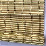 DS- Vorhänge Bambusvorhang - Chinesische Tea Room Bambusrollos Anti-Infrarot-Staubschutz Dekorative Bambusvorhang für interne/Externe Installation [3 Farben - mehrere Größen]&& (Farbe : B)