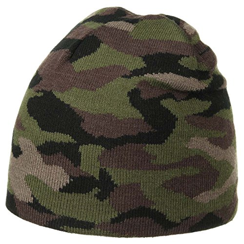 Wild Camouflage Beanie Mütze Neonmütze Tarnmütze (One Size - camouflage)