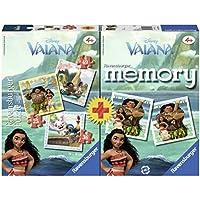 Ravensburger Italy 21272 - Tre Puzzle e Memory Vaiana Disney