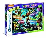 Clementoni 27906–Puzzle Ninja Turtles, 104Teile