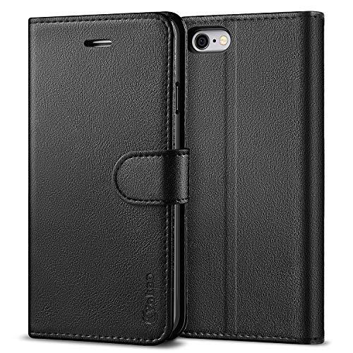 Vakoo [PU-Leder Schutzhülle Kompatibel mit iPhone 6S Hülle, iPhone 6 Hülle, Brieftasche Handyhülle für Apple iPhone 6S/6 (4,7